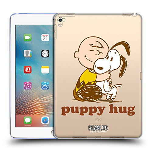 - Official Peanuts Charlie Puppy Hug Snoopy Hug Soft Gel Case for iPad Pro 9.7 (2016)