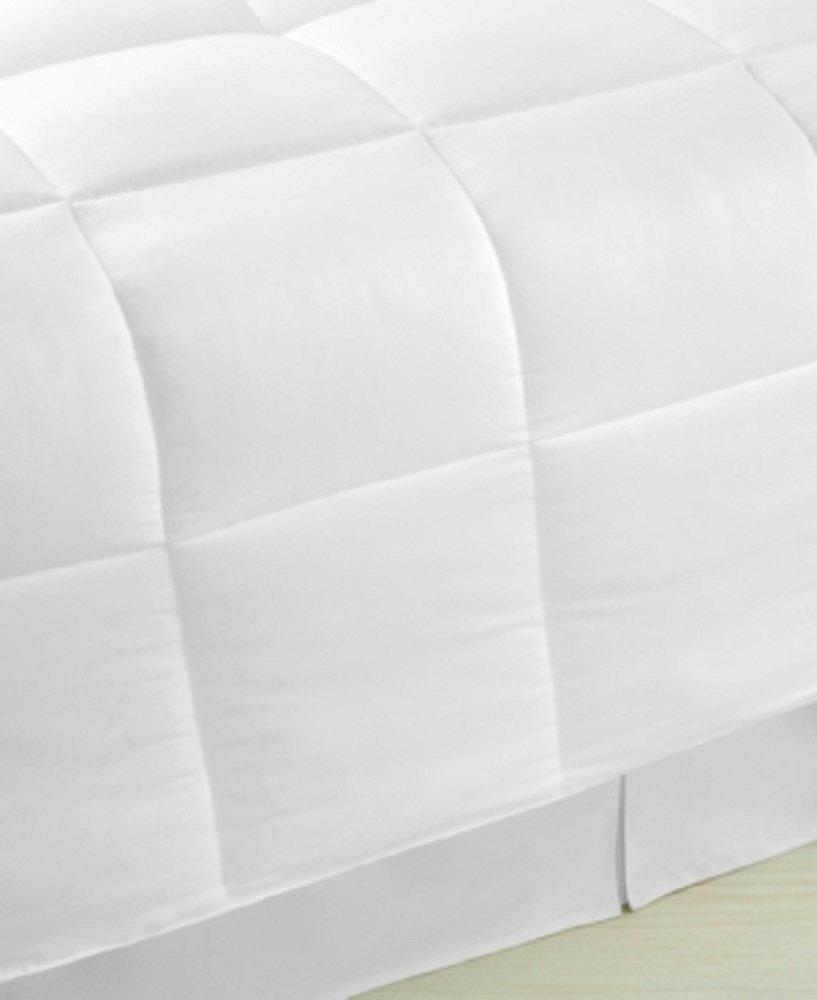 Amazon.com: Home Design Down Alternative King Comforter,White,King ...