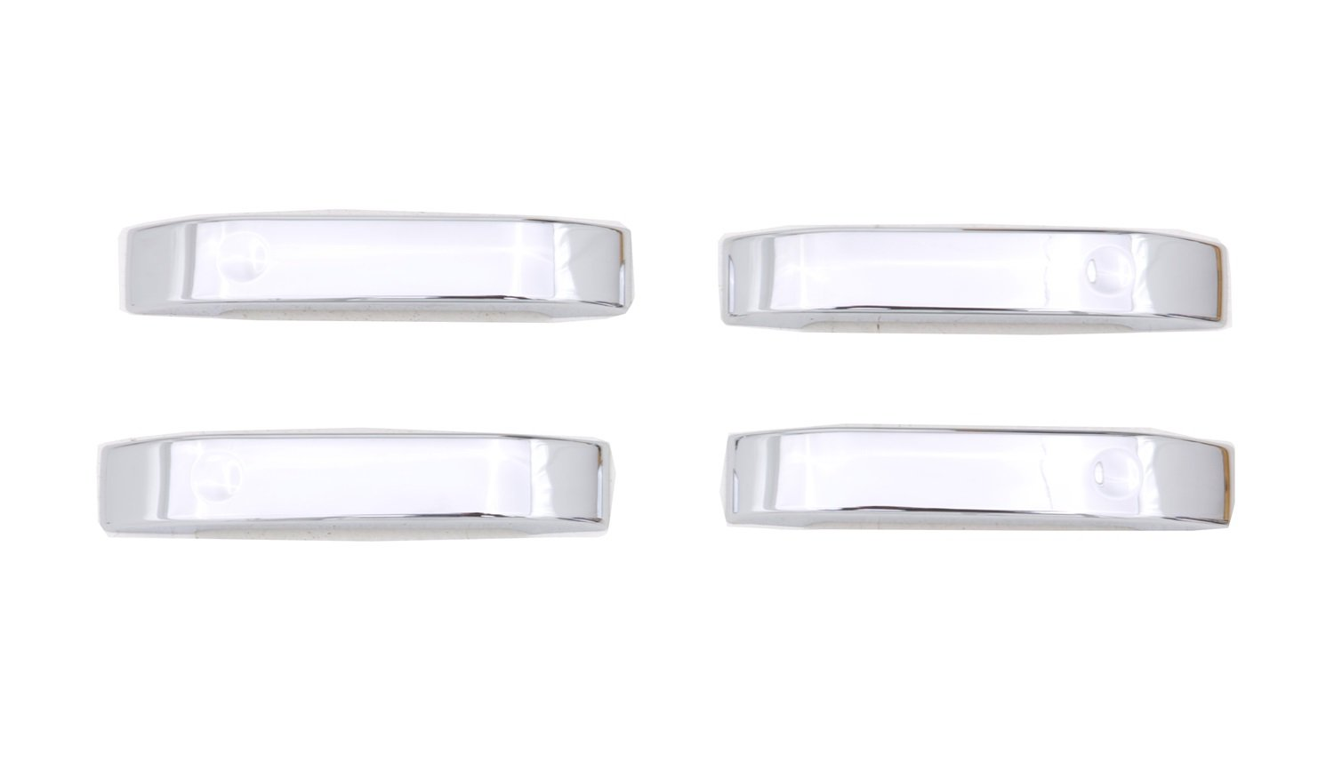 Handle Only Auto Ventshade 685402 Chrome Door Lever Covers 4-Door Set for 2004-2014 Ford F-150