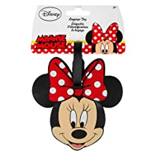 Disney CD4264PD Minnie Mouse Luggage Tag, International carry-on, black