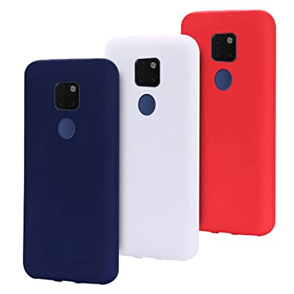 SpiritSun 3X Funda Huawei Mate 20, Silicona Carcasa Suave Gel TPU Case Flexible Protectora Caso Bumper Tapa Slim Blando Cubierta Trasero para Huawei ...