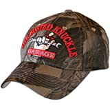 Busted Knuckle Garage BKG-CAMO Camo BKG Hat with Raised Embroidery