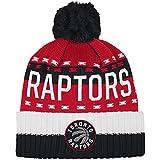 adidas B73552 NBA   Cuffed Pom Knit, Toronto Raptors, OSFA