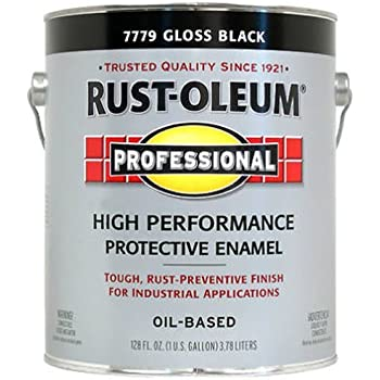RustOleum #7779402 - Protective Enamel Paint, Gloss Black , 1 Gallon
