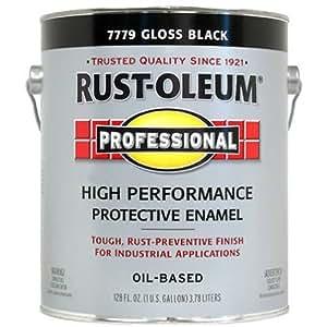 Rustoleum  Protective Enamel Paint Gloss Black  Gallon