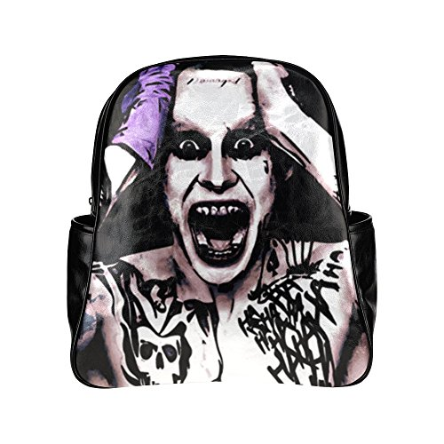 CP-FEED Harley Quinn Suicide Squad The Joker Unisex Multi Pocket Shoulders Backpack