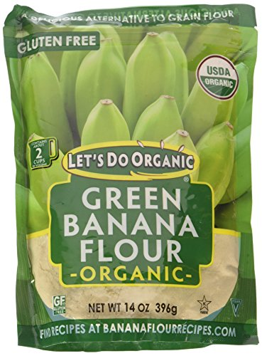 Let's Do...Organic Green Banana Flour, 14 Ounce Pouch