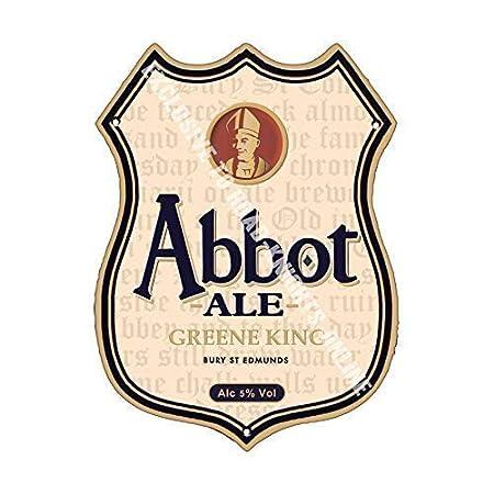 Greene King Abbot Cerveza Bar Anuncio Cerveza Antigua Pub ...