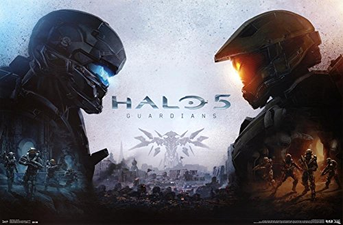Halo 5 Guardians Key Art Wall Poster 22.375