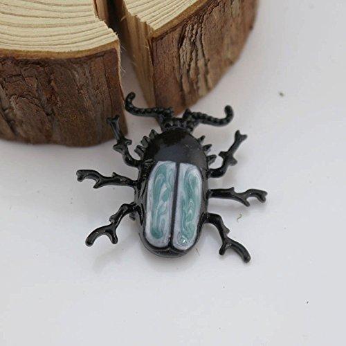 Custom Custom European and American fashion drops of enamel enamel insect beetle beetle brooch pin corsage (Enamel Beetle)