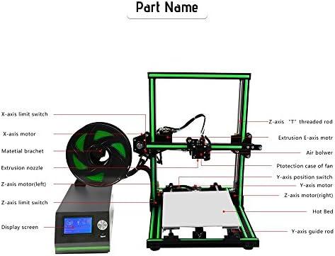 aibecy Anet E10 3d impresora DIY Kit parcialmente montado Super ...
