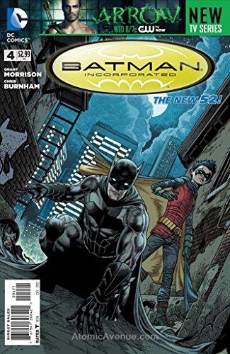 (Batman Incorporated (2nd Series) #4A VF/NM ; DC comic book )