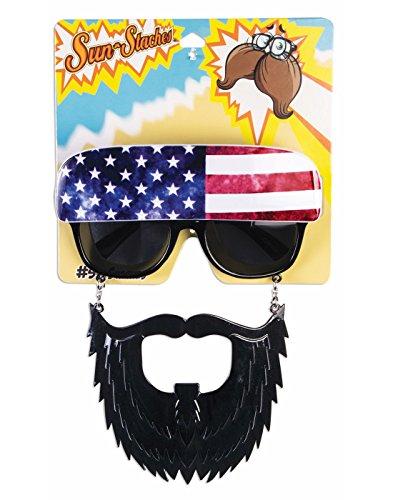 Sun-Stache American Trucker - Sunglasses Stache