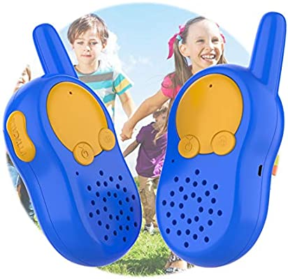 Walkie Talkies para Niños, Walki Talki, USB Recargable Walky Talky ...