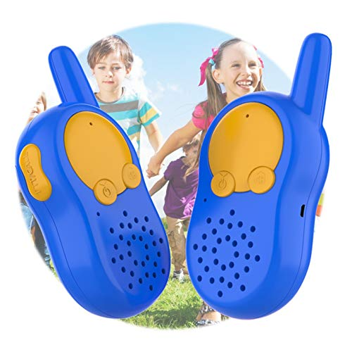KOMVOX Walkie Talkies for Kids USB Chargeable, Birthday for Boys Age 3 4 5 6, Toys for Children 3 4 5 6 Year Old, Outdoor Kids Toys Two Way Radios Toddler Walky Talky