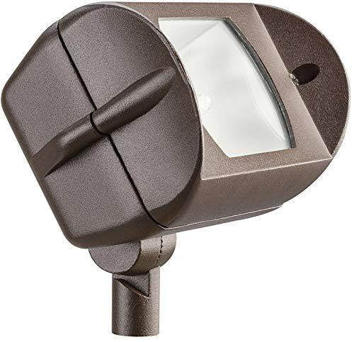 (Kichler 15395AZT Accent 1-Light 12V, Textured Architectural Bronze)
