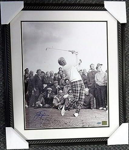Jack Nicklaus Signed Framed 16 x 20 Photo Steiner - PGA Golf ...