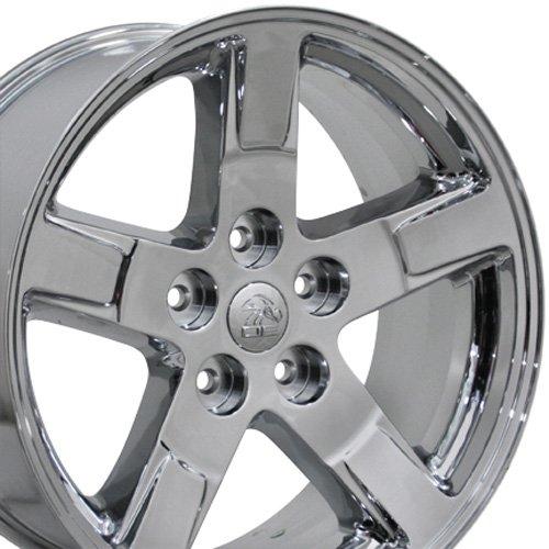 20x9 Wheel Fits Dodge, RAM Trucks - RAM Style Chrome Rim, Hollander 2364 - ()