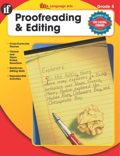 The 100+ Series Proofreading & Editing, Grade 5 by School Specialty Publishing (2004-02-25) pdf epub