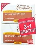 ROGE CAVAILLES Savon Surgras Extra-Doux (Lot de 3 + 1 OFFERT) (4 x 250 g)