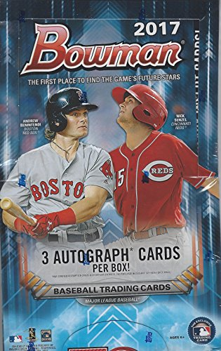 2017-bowman-baseball-jumbo-box-12-packs-of-32-cards-3-autographs-and-many-inserts