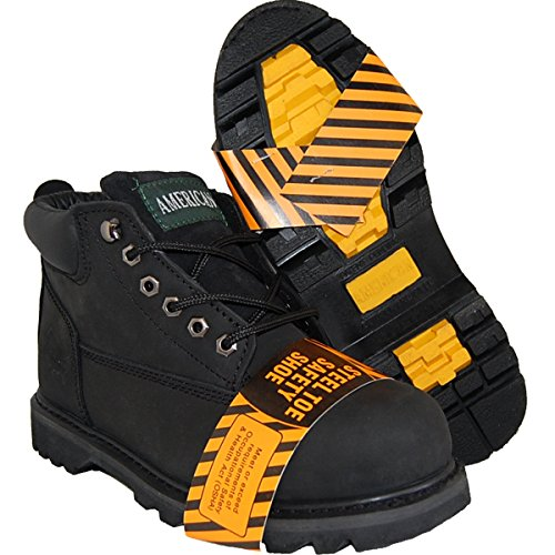 - Shoe Artists Goodyear Welted Steel Toe Leather Upper Ankle Boot, Men Size 9-5