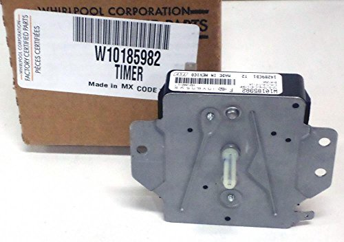 Major Appliances W10185982 Whirlpool Kenmore Dryer Timer Control PS2352169 AP4411360