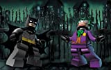 Athah Designs Wall Poster 13*19 inches Matte Finish LEGO Batman: The Videogame Lego