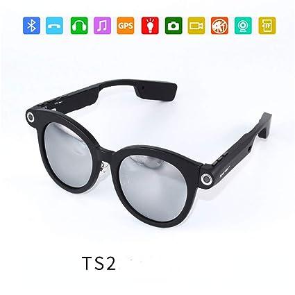 RENYAYA Oculto cámara espía Gafas de Sol Full HD 720P DVR ...