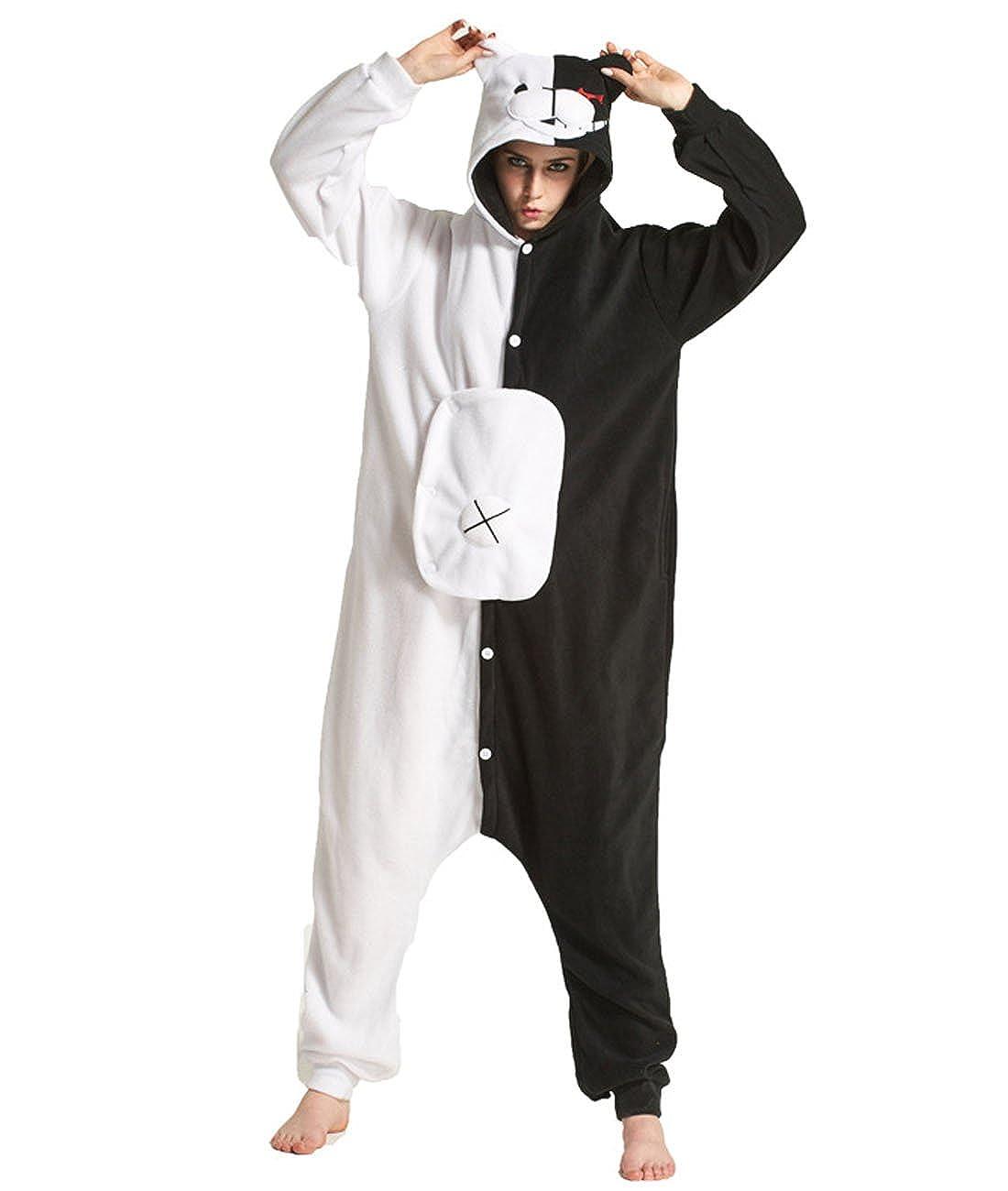 Yimidear Cosplay Pigiama Adulto Donna Uomo Cosplay Pigiama Animale Halloween Costume Attrezzatura