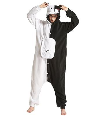 l'atteggiamento migliore 950a0 57c49 Yimidear Cosplay Pigiama, Adulto Donna Uomo Cosplay Pigiama Animale  Halloween Costume Attrezzatura