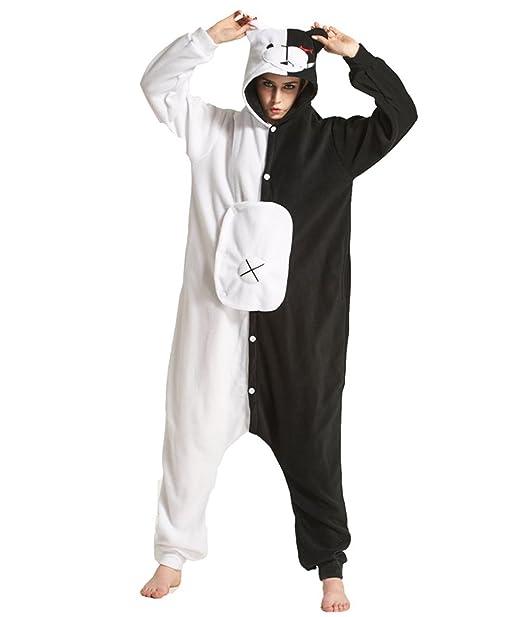Yimidear Cosplay Ropa de Dormir, Unisex Adulto Pijamas Animales Disfraz Traje de Dormir Onesie