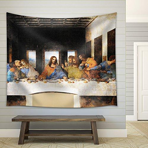 Last Supper Leonardo Da Vinci Milan Fabric Wall