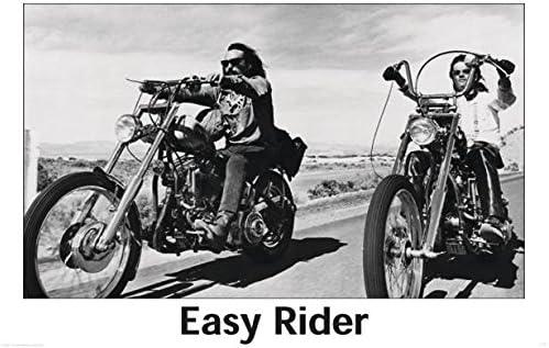 Close Up P/óster Easy Rider 101,5cm x 68,5cm 1 p/óster Sorpresa de Regalo