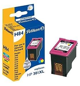 Pelikan 4108982 - Cartucho de tinta HP Deskjet 2050 - 301XL - Cyan, Magenta, Amarillo