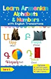 Learn Armenian Alphabets & Numbers: Black & White Pictures & English Translations