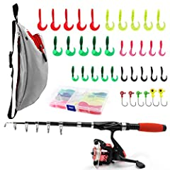 Fishing is great for building memories, confidence and joy. SupsShop fishing rod full kit can meet all of beginner's needs! THE FISHING ROD FULL KIT INCLUDE: ☑ Fishing rod *1 ☑ Fishing reel *1 ☑ Fishing line *1(bundled on the reel) ☑ Fishing ...