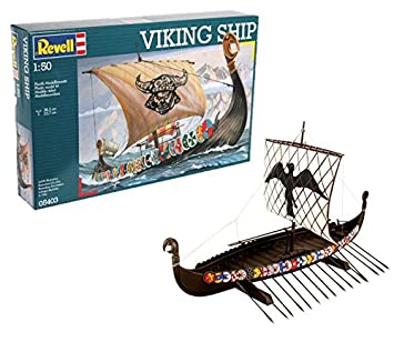 Revell- Maqueta Viking Ship, Kit Modello, Escala 1:50 (5403) (05403)