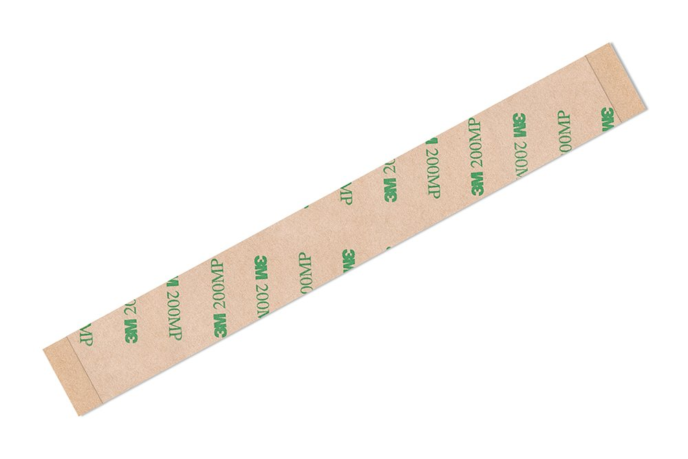 0.313 in x 180 ft 3M 9495MP Adhesive Transfer Tape Bonding and Sealing Tapes Solvent Resistance Polyester Film Tape Roll with Shear Strength