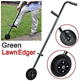 Popamazing Garden Lawn Edger Create perfect Garden Borders/Edging Everytime Self-Sharpening