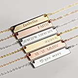 SAME DAY SHIPPING before 12PM Personalized Gifts MignonandMignon Handmade Gifts for Women Personalized Name Necklace Gold Nana Necklace - 4N
