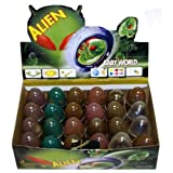 ALIEN Hatching Slime / Putty Amoeba Egg - WHOLESALE BOX OF 24 by Henbrant