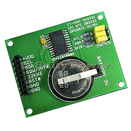 Mini RTC Real Time Clock DS3232 I2C BUS for PIC AVR ARM