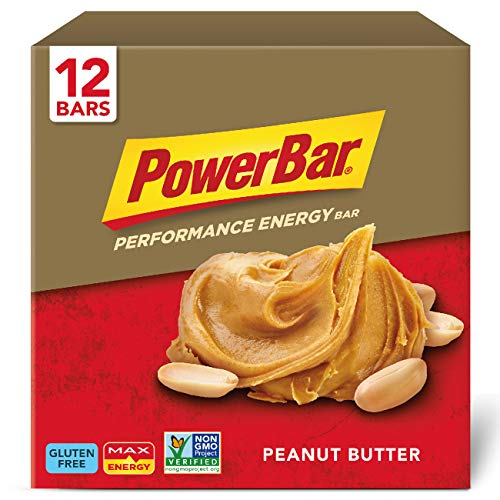 PowerBar Performance Energy Bar, Peanut Butter, 2.29 Ounce Bars (Pack of 12)