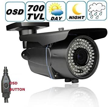 Mini Bullet 700 TVL Sony Effio CCD Color Night NTSC CCTV Security Camera
