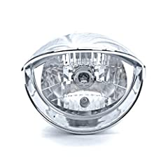 Features:                       Enhance the look with this custom chrome headlight         This is an after market headlight         100% RUST FREE !                       Specification:                       Condition: 100% B...