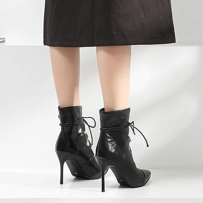 Prickelnde Schwarze Pumps Peeptoes Stilettos Glitzer High Heels