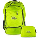 Lightweight Packable Backpack from Cougar Outdoor, Foldable Water Resistant 30L Daypack Best For Travel (Green)