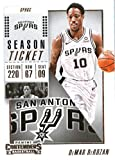 2018-19 Panini Contenders Season Ticket #47 DeMar DeRozan San Antonio Spurs Basketball Card