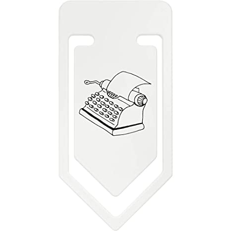 Azeeda 141mm Máquina de Escribir Clip de Papel Plástico Gigante (CC00028864)